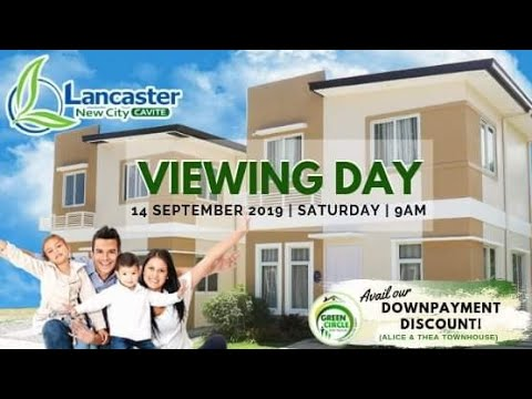 Lancaster New City Cavite Viewing Day - September 2019