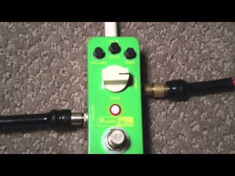 Mooer Rumble drive (overdrive) video review