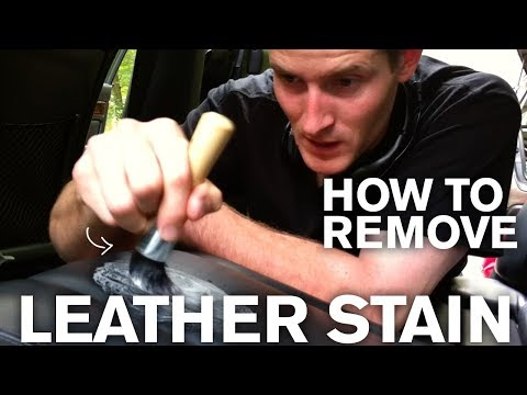 How to Remove an Old Stain from Leather