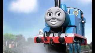 Мультик игра про паровозик Томас на русском, гонки с Томасом!