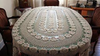 Mantel Tejidos a crochet
