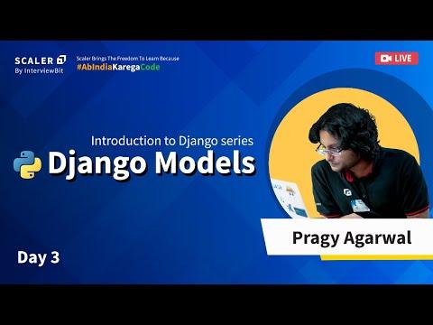 Django Tutorial For Beginners - Django Models