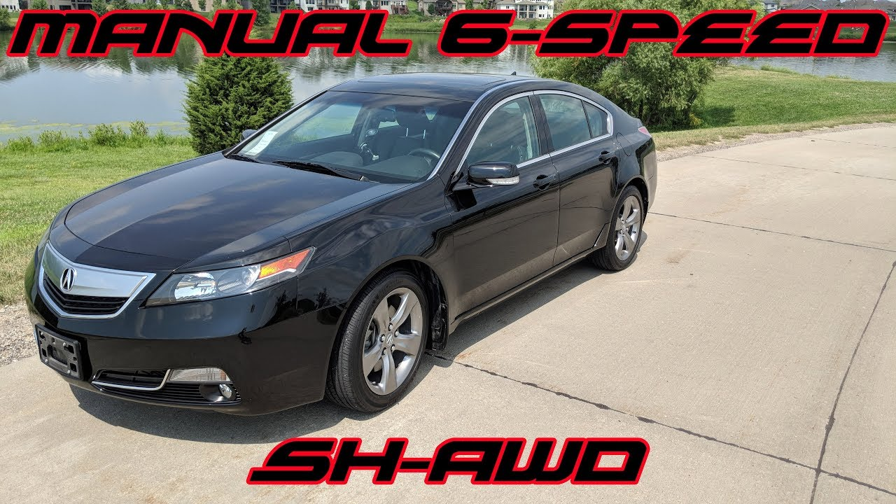 2012 Acura Tl Sh Awd Manual Driving Impressions Part 1 Youtube