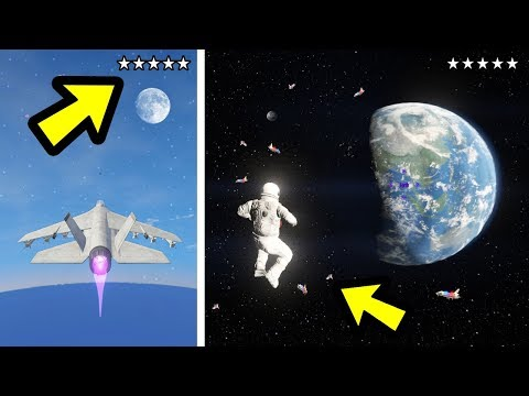 GTA 5 - What Happens if You Get a Wanted Level in Space?