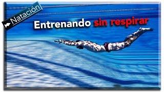 Entrenamiento hipóxico (Aguantando la respiración) para nadar más rápido