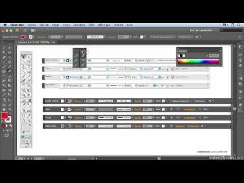Illustrator CS6 : Modernisation générale de l'interface