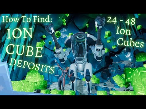 How To Find Large ION CUBE Deposits || Subnautica Below Zero