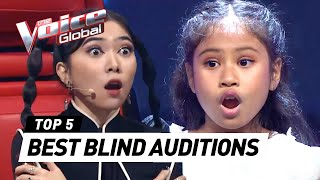 BEST BLIND AUDITIONS of The Voice Kids Indonesia 2021