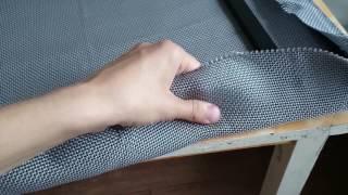 натяжка гриля тканью Audiocore 1001A