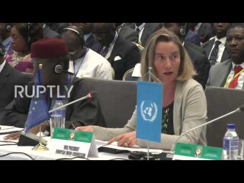 Liberia: Mogherini pays respects to London victims, pushes Paris climate deal