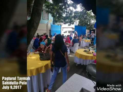 SAHIDULLA -PULA PAGTURUL TAYMAH JULY 9,2017