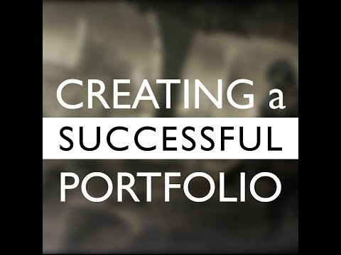 How to Create a successful Portfolio - Audio Commentary
