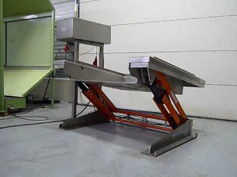 Used Edmo lift table for sale