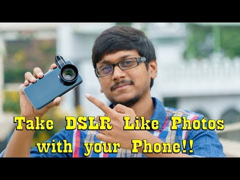 Take DSLR Like Photos with your Smartphone!!