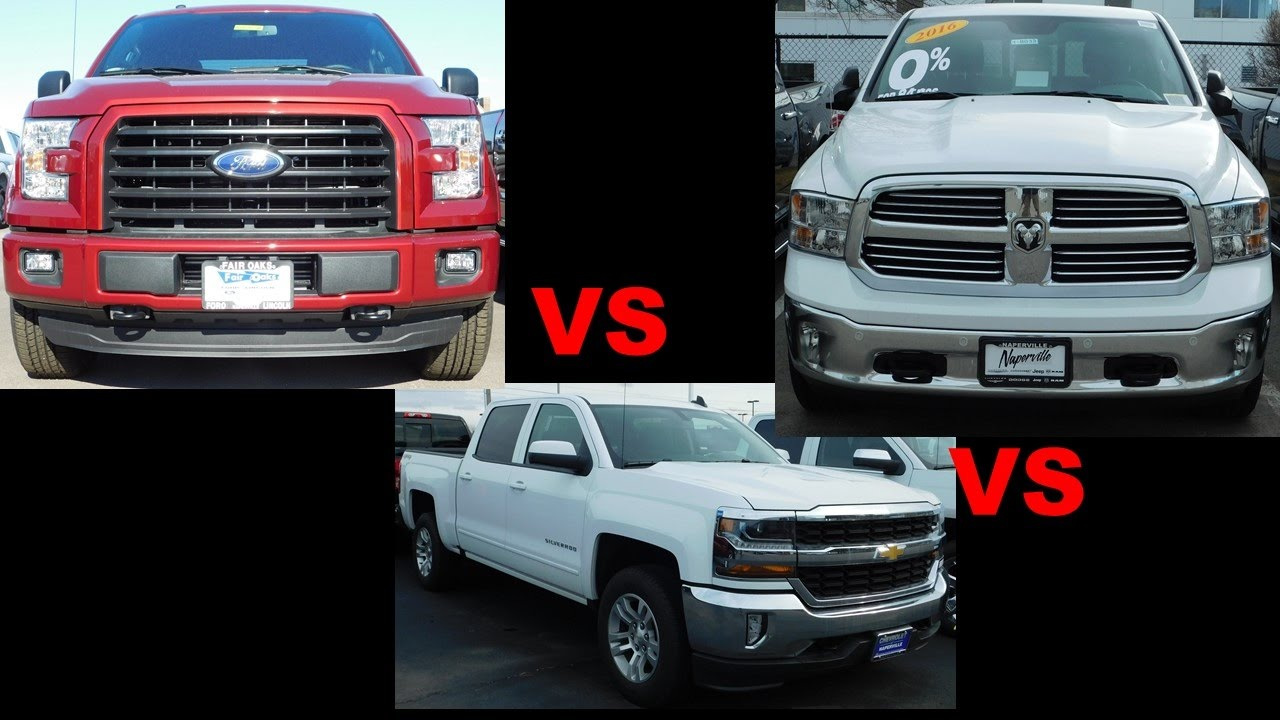 2017 ford f 150 vs 2017 chevy silverado vs 2017 ram 1500. Black Bedroom Furniture Sets. Home Design Ideas