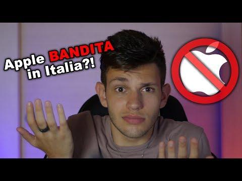 Apple BANDITA dall'Italia   La Proposta di Legge: Facciamo Chiarezza