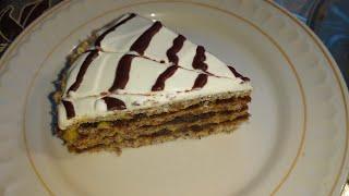 Торт Эстерхази без сахара, сахаразаменителей и подсластителей,  без глютена