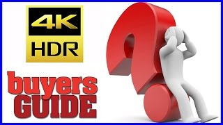4K TV Buying Checklist   What to know before you buy   Holiday 2016
