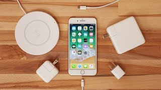 iPhone 8 Charging Speed Comparison - Is Fast Charging worth it?