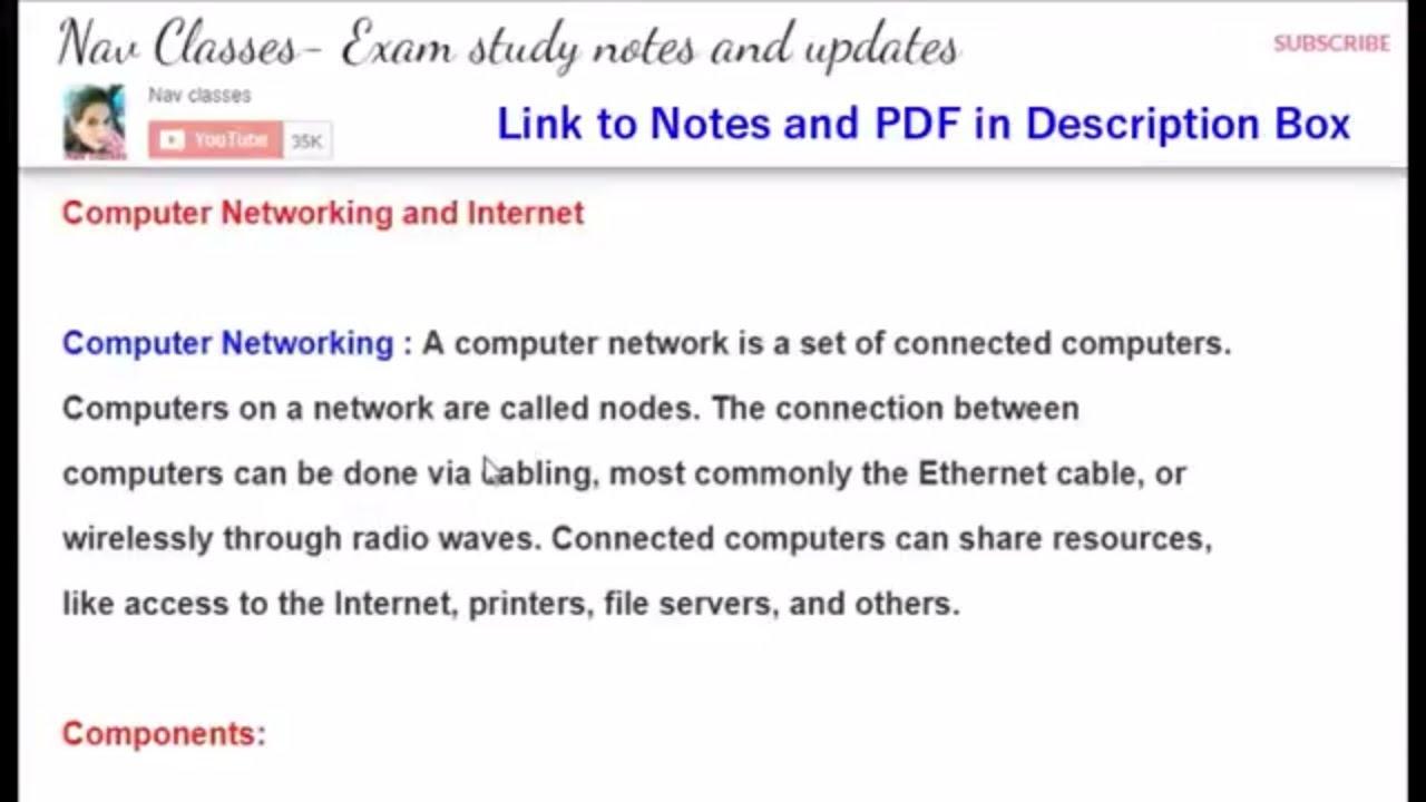 Computer Network Pdf File