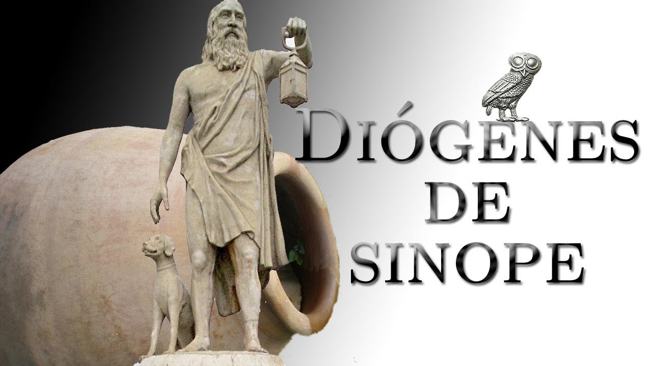 diogenes of sinope Diogenes of sinope was an ancient greek philosopher and self-proclaimed citizen of the world who, at different points, allegedly lived in a wine barrel (or possibly another kind of jar.