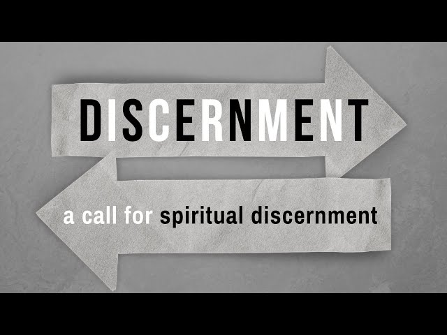 A Call for Spiritual Discernment - Selected Scriptures (Pastor Robb Brunansky)
