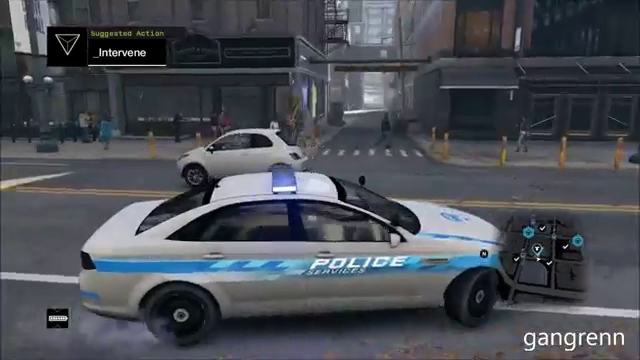 How To Find Police Cars In Watch Dogs
