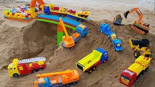 Building Bridge Blocks Toys For Kids with Truck Ex...
