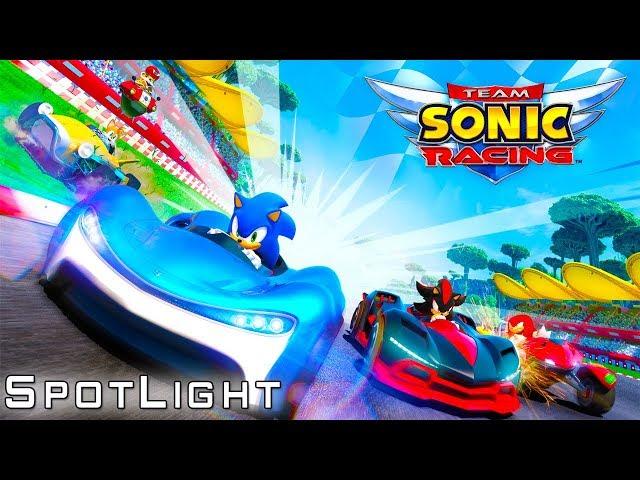 Team Sonic Racing! - Fantasmas, Silver, Spotlight!!