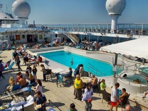 Norwegian Sun Cruise Ship Onboard Video Views Youtube