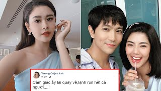CĐM xôn xao Tim và Đàm Phương Linh hẹn hò, bất ngờ trạng thái Trương Quỳnh Anh: