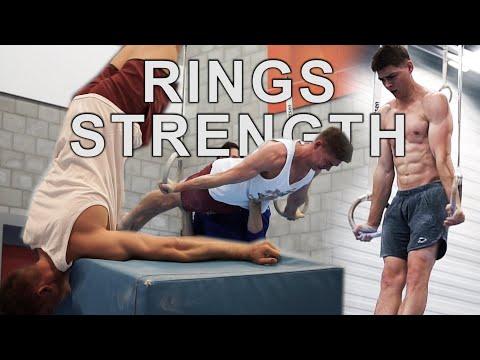 Gymnastics Rings Strength Training