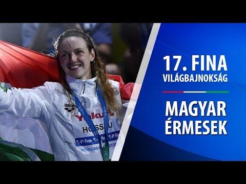 17. FINA VILÁGBAJNOKSÁG // Büszkeségeink - Magyar érmesek