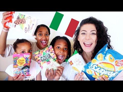 ITALY SNACKS TASTE TEST | TRAVEL VLOG IV