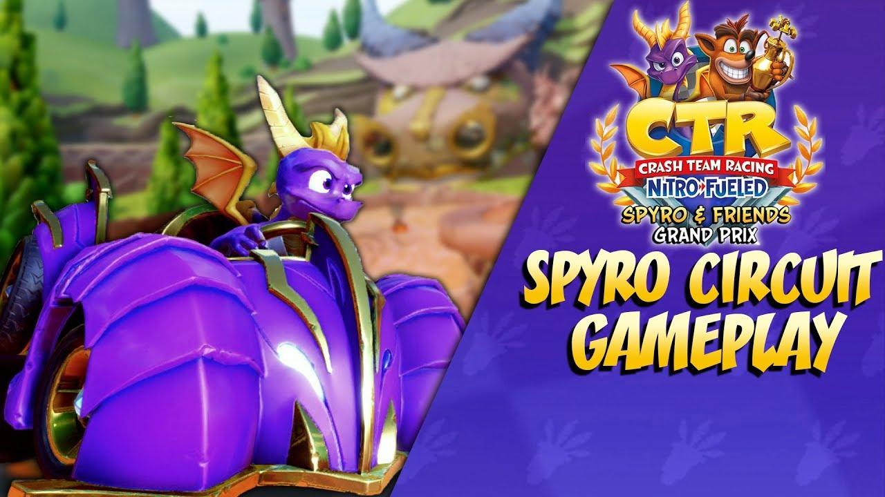 Crash Team Racing: SPYRO CIRCUIT GAME PLAY REVEAL + Analysis