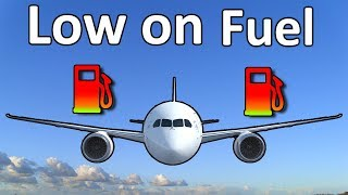 MAYDAY, fuel emergency!! How do pilots deal with it?!