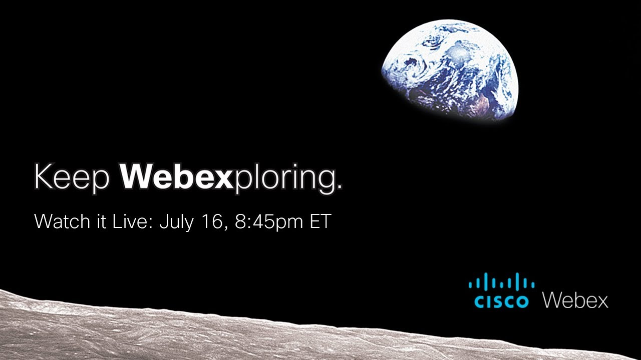 Apollo 11  One giant leap for Webex collaboration | Welcome to the