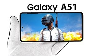 Samsung Galaxy A51 Phone Unboxing - Call of Duty Mobile, PUBG Gameplay