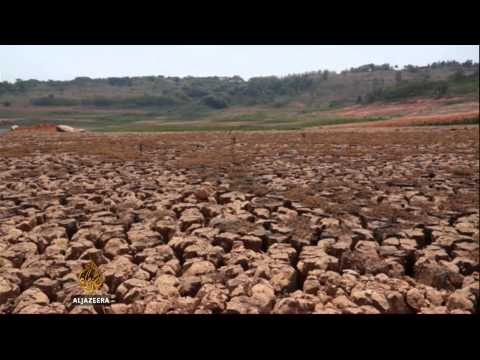 Water crisis squeezes Brazil's largest state