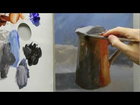 Acrylic still life painting for beginners – Part 3 of 3