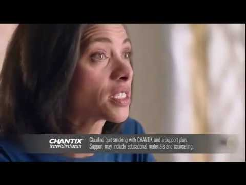 Chantix Commercial - 'Claudine' - YouTube
