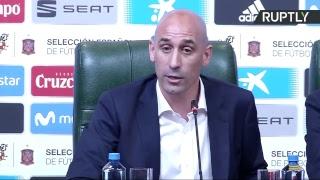 Lopetegui, destituido como seleccionador de España (Rueda de prensa)