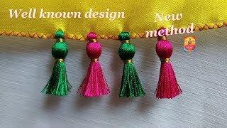 Saree Kuchu well known design-new method-tips