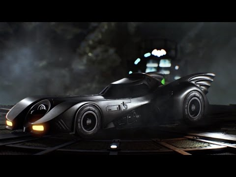 Official Batman: Arkham Knight August Update Trailer – Featuring 1989 Movie Batmobile Pack