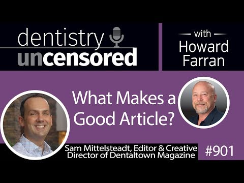 901 What Makes A Good Article? With Sam Mittelsteadt Editor & Creative Director