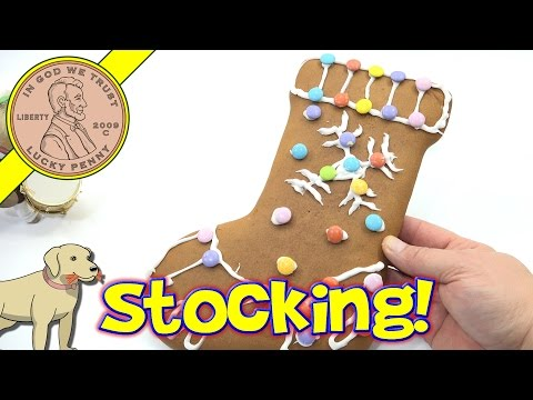 Authentic German Gingerbread Stocking Kit