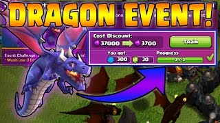 Beating the DRAGON EVENT! - TH8 - TH10 Drag Strategies! - Clash of Clans - Dragon Challenge!