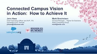 Connected Campus Vision in Action: How to Achieve It