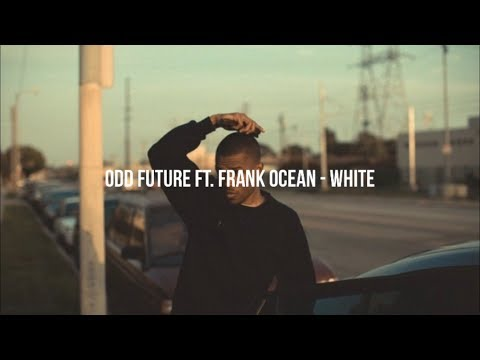 Odd Future Ft. Frank Ocean - White (Lyrics)