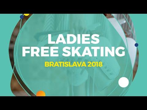 Ladies Victory Ceremony | Bratislava 2018